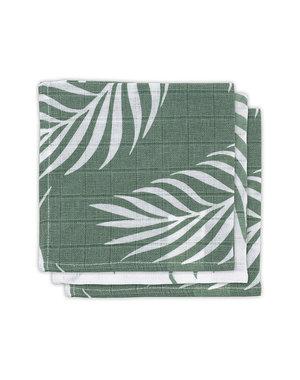Jollein Jollein - Monddoekje hydrofiel - Nature ash green (3pack)