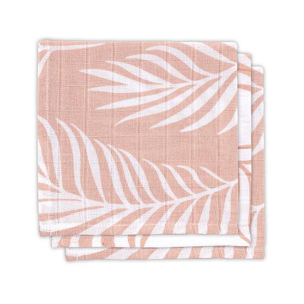 Jollein Jollein - Monddoekje hydrofiel - Nature pale pink (3pack)