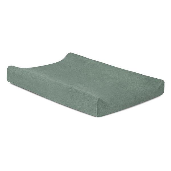Jollein Jollein - Waskussenhoes badstof 50x70cm - Ash green
