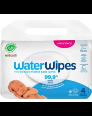 WaterWipes WaterWipes - Babydoekjes plasticvrij en biologisch afbreekbaar - 240 stuks