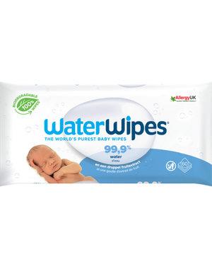 WaterWipes WaterWipes - Babydoekjes plasticvrij en biologisch afbreekbaar - 60 stuks