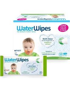 WaterWipes WaterWipes - Snoetendoekjes plasticvrij en biologisch afbreekbaar - 540 stuks