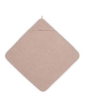 Jollein Jollein - Badcape Badstof 75x75cm - Pale Pink