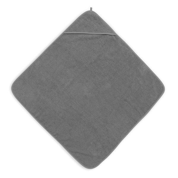 Jollein Jollein - Badcape Badstof 75x75cm - Storm Grey