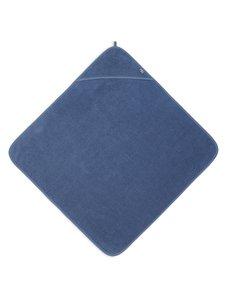 Jollein Jollein - Badcape Badstof 75x75cm - Jeans Blue