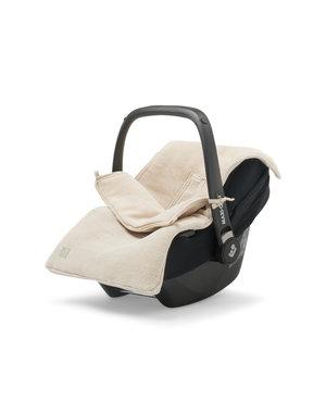 Jollein Jollein - Voetenzak Voor Autostoel & Kinderwagen- Basic Knit Nougat