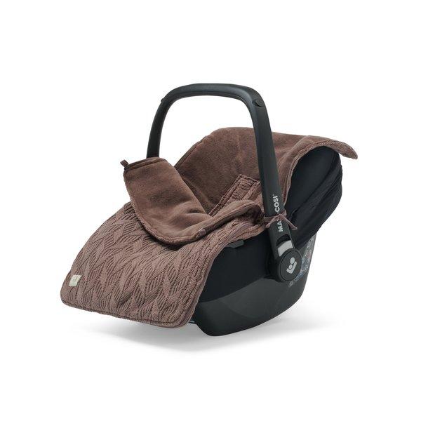 Jollein Jollein - Voetenzak Voor Autostoel & Kinderwagen - Spring Knit Chestnut