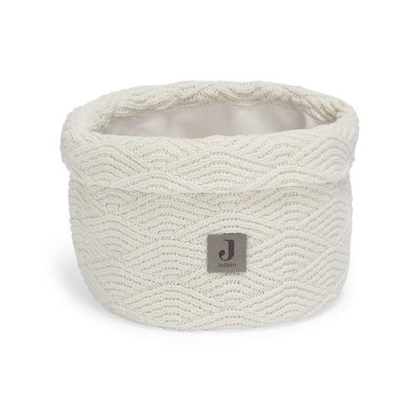 Jollein Jollein - Commodemandje - River Knit Cream White