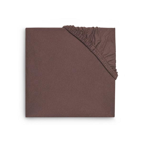 Jollein Hoeslaken Boxmatras Jersey 75x95cm - Chestnut