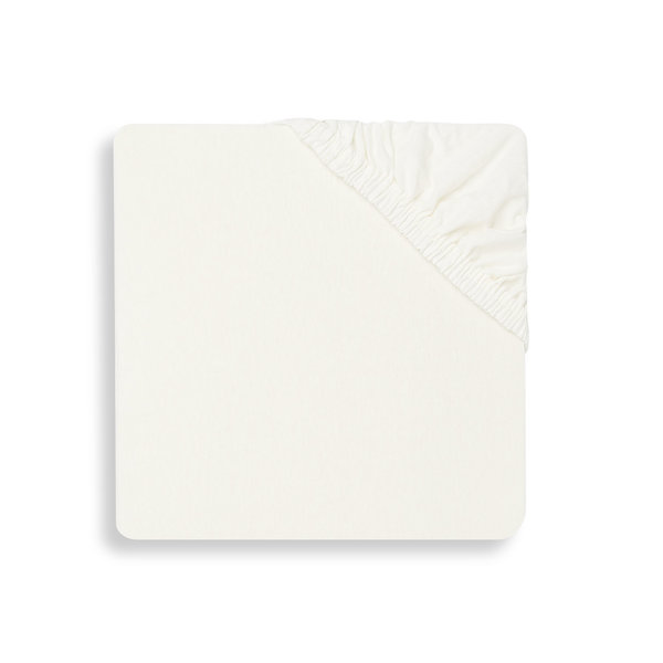 Jollein Hoeslaken Boxmatras Jersey 75x95cm - Ivory