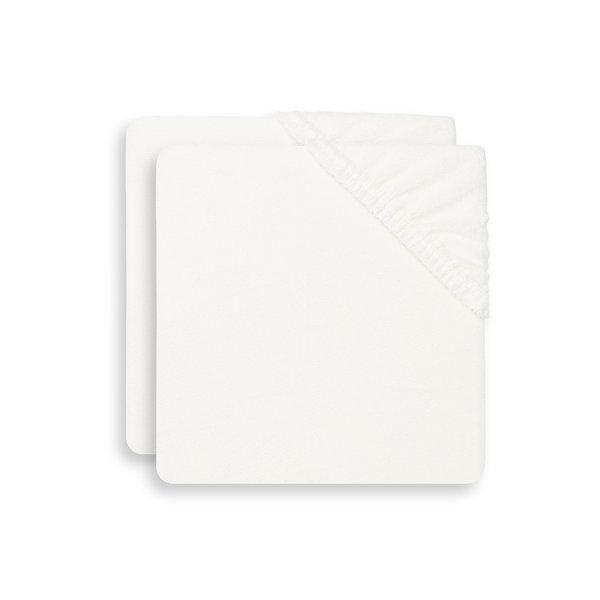 Jollein Jollein - Aankleedkussenhoes Badstof 50x70cm - Ivory - 2 Stuks