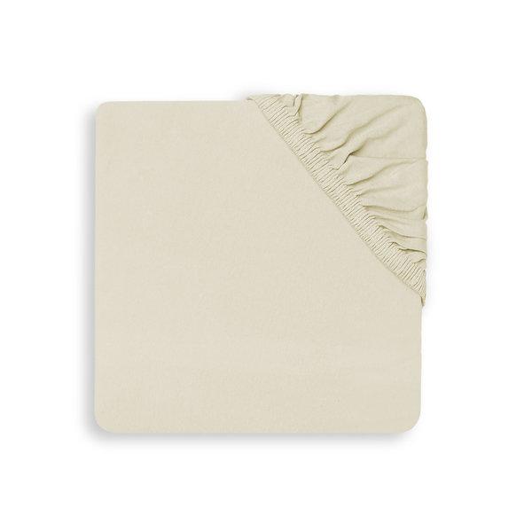 Jollein Hoeslaken Wieg Jersey 40x80/90cm - Ivory