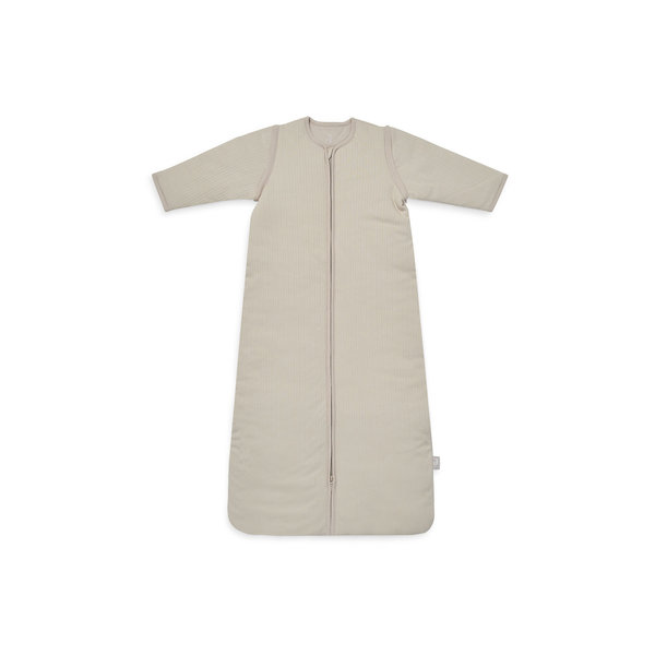 Jollein Jollein - Baby Slaapzak 70cm Basic Stripe - Met Afritsbare Mouw - Nougat