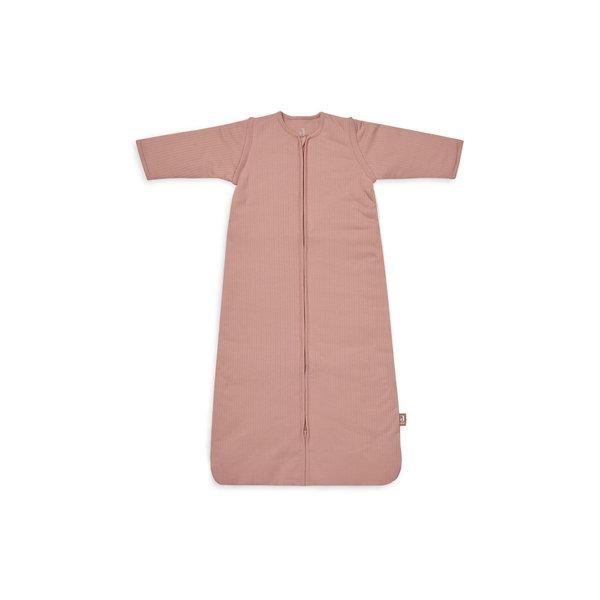 Jollein Jollein - Baby Slaapzak 90cm Basic Stripe - Met Afritsbare Mouw - Rosewood