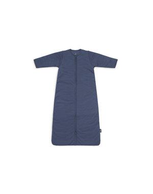 Jollein Jollein - Baby Slaapzak 90cm Basic Stripe - Met Afritsbare Mouw - Jeans Blue