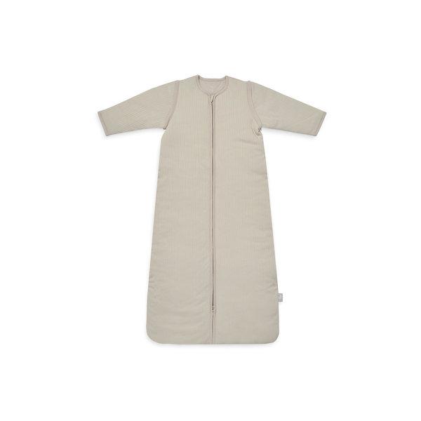 Jollein Jollein - Baby Slaapzak 110cm Basic Stripe - Met Afritsbare Mouw - Nougat