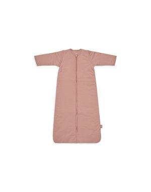 Jollein Jollein - Baby Slaapzak 110cm Basic Stripe - Met Afritsbare Mouw - Rosewood