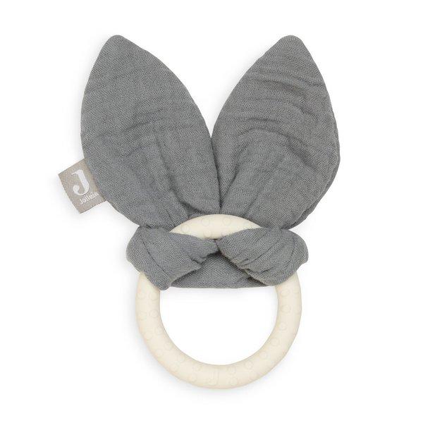 Jollein Jollein - Bijtring Bunny Ears - Storm Grey