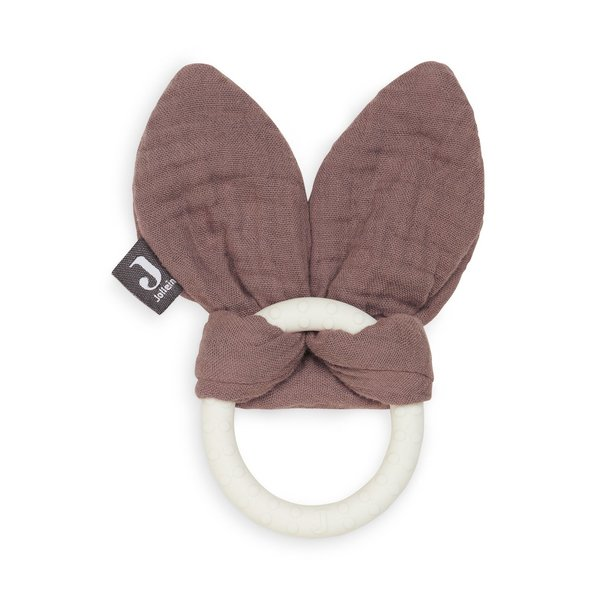 Jollein Jollein - Bijtring Bunny Ears - Chestnut