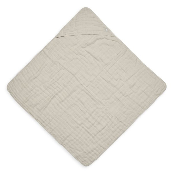 Jollein Jollein - Badcape 75x75cm - Wrinkled - Nougat