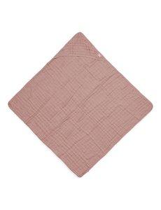 Jollein Jollein - Badcape 75x75cm - Wrinkled - Rosewood