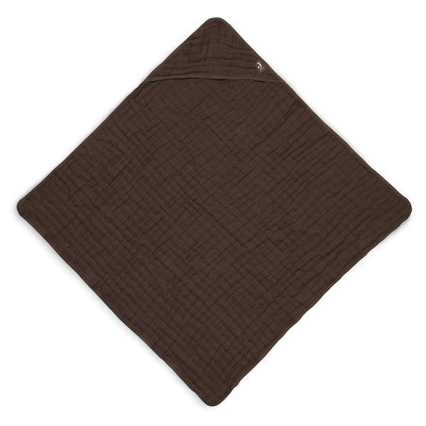 Jollein Jollein - Badcape 75x75cm - Wrinkled - Chestnut