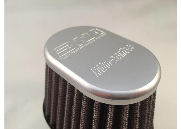 DNA 51MM Ovaal Filter Aluminium Top XVO-5100