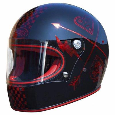 Premier Trophy Helm NX Red Chromed