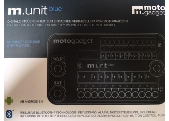 Motogadget M-Unit Blue