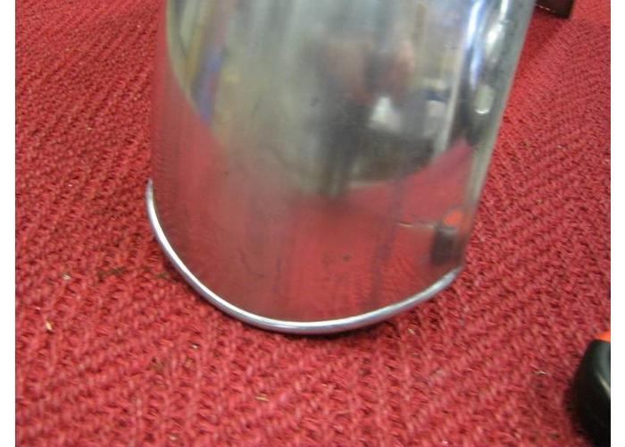 Spatbord 180 mm Staal voor Bobbers en Hardtails