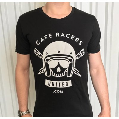 MCU Cafe Racers United Skull T-Shirt