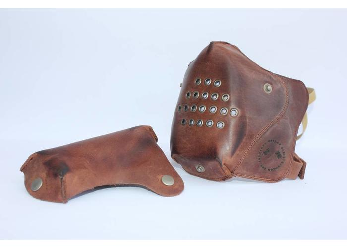 Motard Germany Cafe Racer Masker Leder - Vintage