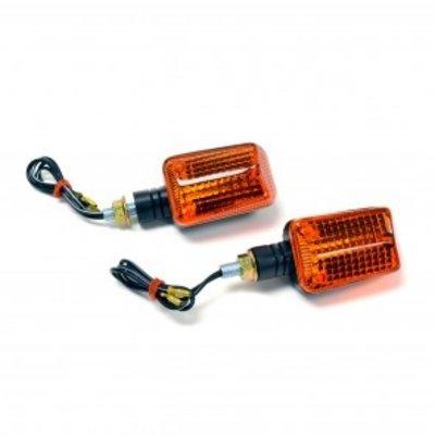 Emgo Set Mini Knipperlichten Vierkant 12 Volt