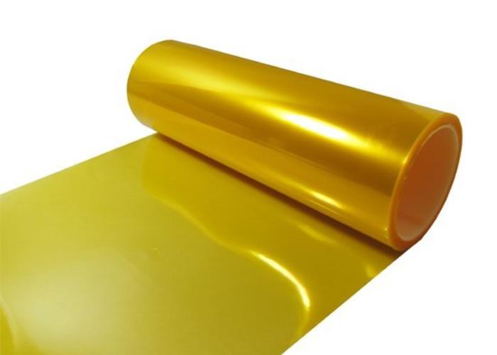 Yellow Headlight Foil / Koplamp Folie