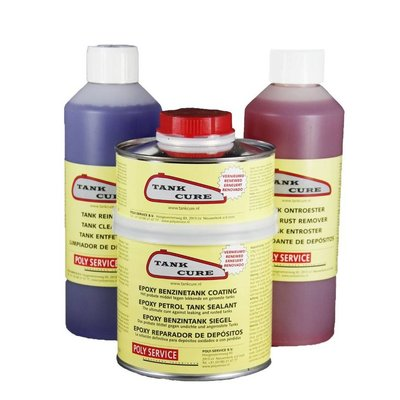 Tank Cure Brandstoftank Behandelingsset (roest / reiniger / sealer)