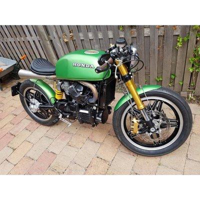 Honda 'Mean Green' CX500 cafe racer
