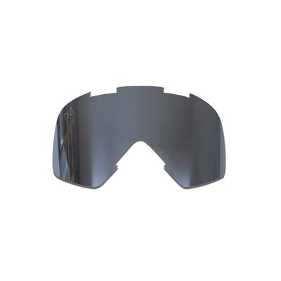 SMF Mariener Moto Goggle Vervangings Lens Dark Silver