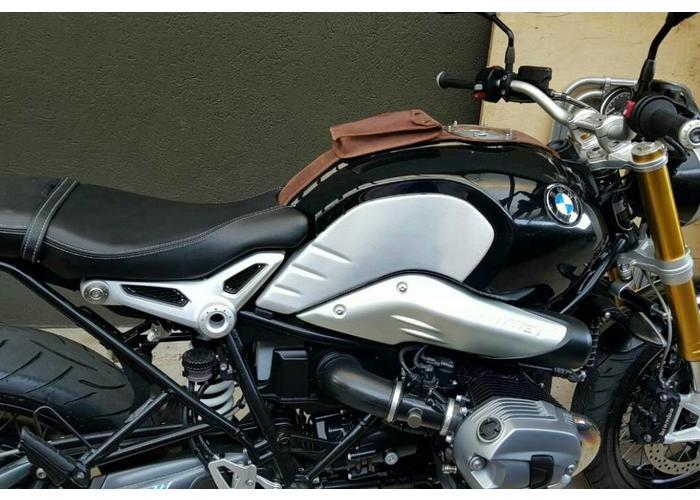 BMW R Nine T Tankstrap met Telefoon / Accessoire Houder