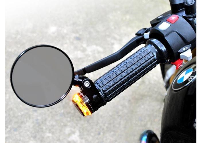 """Motogadget 1"""" m-Rear Spiegel Zwart"""
