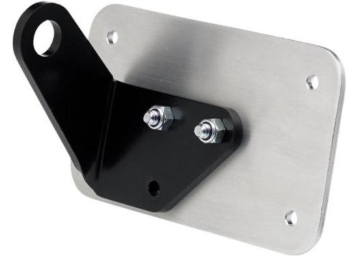 Axle Sidemount & License Plate Bracket