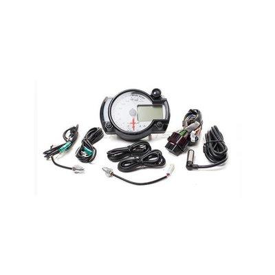 KOSO GP Style snelheidsmeter RX2N + / wit / 20000 RPM