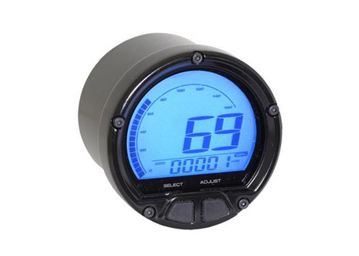 KOSO (max 160mph/260kmh) D55 DL-02S Snelheidsmeter LCD Display