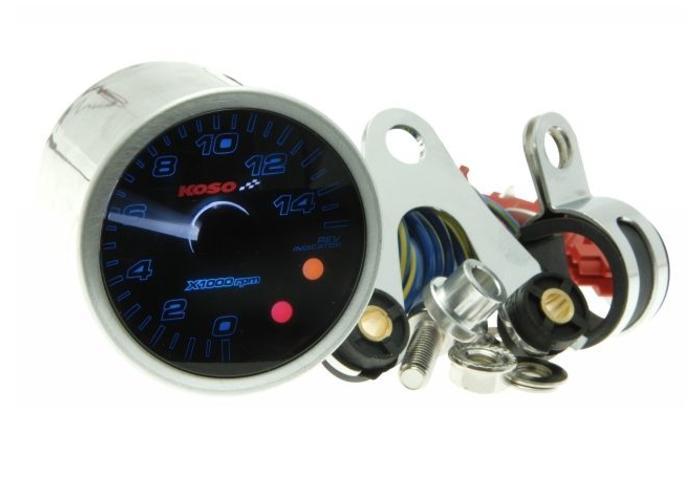 KOSO (Yamaha) D55 Snelheidsmeter met LCD Scherm, SPEED/ODO/FUEL