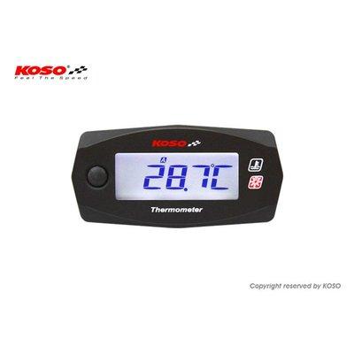 KOSO Dubbele Thermometer Mini 4 (Batterij) tot wel 250℃
