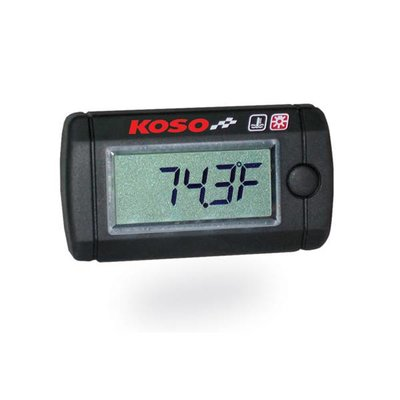 KOSO Thermometer Ministyle 250 (Met Backlight)