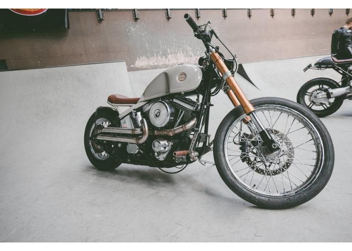 MAD Exhaust Uitlaatsysteem voor Harley Hammerhead