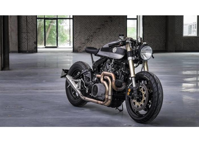MAD Exhaust Yamaha XV Virago Design Uitlaat