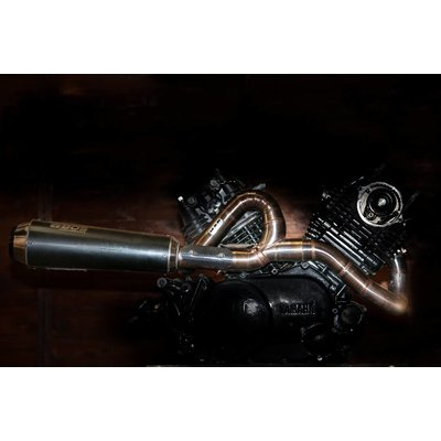 MAD Exhaust Yamaha XV Virago Performance Uitlaat