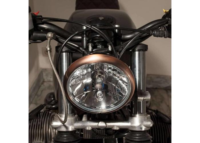 Shin Yo 5,75 inch Koplamp Copper Black Onder Montage