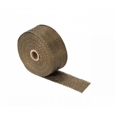 MCU 10M Uitlaat Wrap / Exhaust Wrap / Heat Wrap Titanium